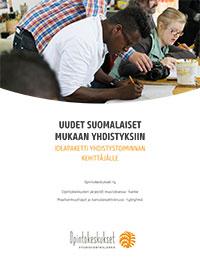 Uudet suomalaiset mukaan yhdistystoimintaan -julkaisun kansikuva