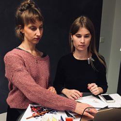 Krista Blomqvist ja Tuuli Huovila
